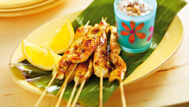 Recetas de cocina faciles para estudiantes pinchos de - Pollo con almendras facil ...