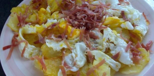 Recetas de cocina faciles para estudiantes huevos rotos for Cocina facil y rapido de preparar