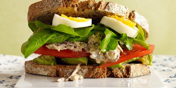 Sandwich de marisco