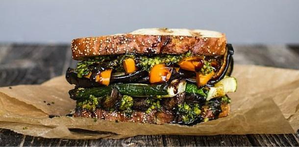 Un Sándwich Vegetal diferente